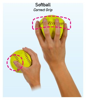 softball pitches | Softball_How-To-Throw_Grip+on+ball.jpg