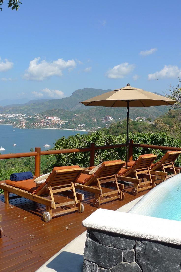 Solana pool terrace