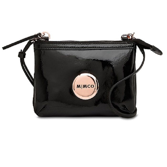 Mimco Secret Couch Black/Rose Gold $199.00AUD from David Jones