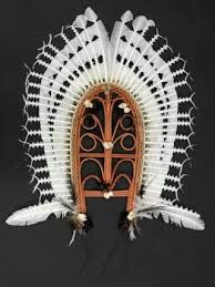 Torres Strait Islands ceremonial head dress.