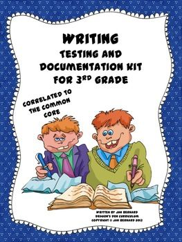 Knowing exactly which writing skills each student in your classroom needs to learn, is the key to providing the best writing instruction possible. This resource has been created to help you make decisions based on real data that reflects what your students do, and do not know about the 21 writing standards in the third grade curriculum.  $
