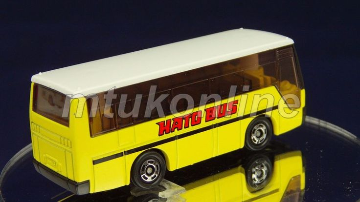 TOMICA 041D ISUZU SUPER HI-DECKER BUS | 1/145 | 41D-1 | HATO | 1988 JAPAN