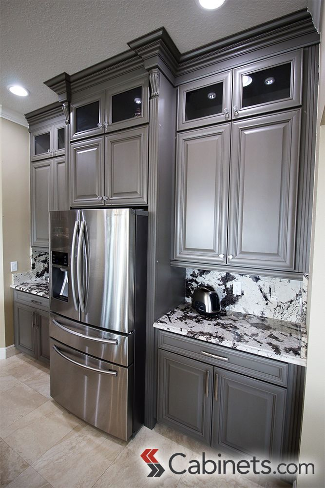 Best 30 Best Gray Cabinets Images On Pinterest Gray Cabinets 640 x 480