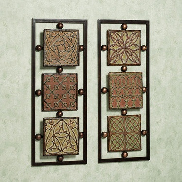 Celtic metal wall art colored dimensional decorative plaque panels for the home pinterest - Decorative metal wall art panels ...