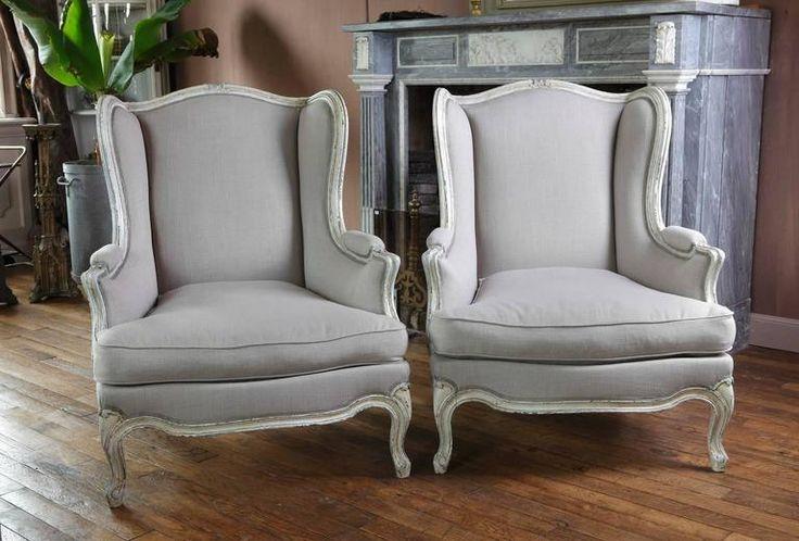Barokk füles fotelek