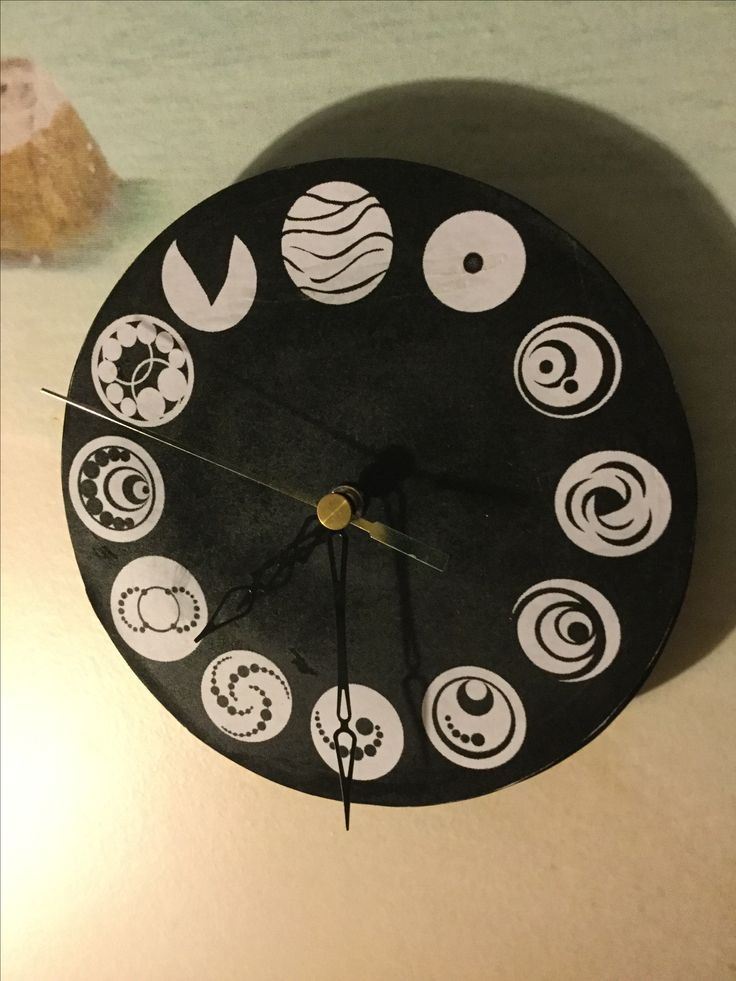 The lorien legacies clock I made at school