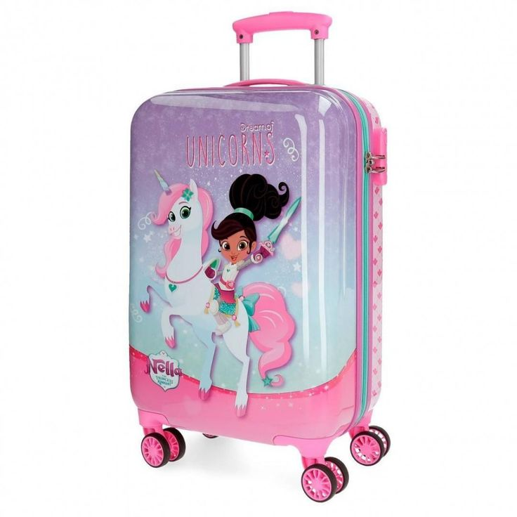 Troler Calatorie Copii Abs 55 Cm 4 Roti Nella Dreams Of Unicorns Little Girl Toys Kids Toy Shop Baby Doll Accessories