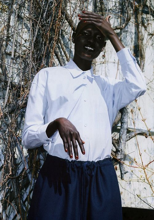 Grace Bol in Sleek Magazine S/S 2013 by Marcus Pritzi
