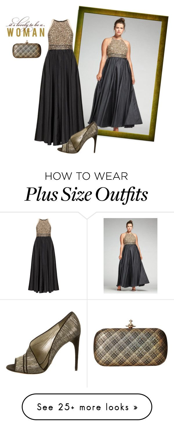 """""""Lovely to be a Woman"""" by plussizefashionista on Polyvore featuring navabi, Ariella, Vivienne Westwood, Dolce&Gabbana, plus, plussize and plussizefashion"""