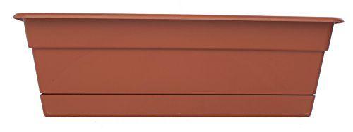 Bloem dcbt36–46–691,44cm Dura Cotta Boîte à fenêtre–Terra Cotta: Plastique Style de prix de beauté sans poids ou de risque de bris.…