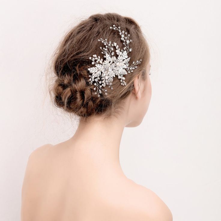 Cheap Women Hair Accessories Buy Quality Directly From China Clip Suppliers Crystal And Rhinestone Wedding Headpiece Handmade Bridal