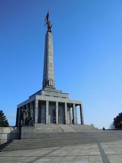 Slavín Monument, Bratislava, Slovakia
