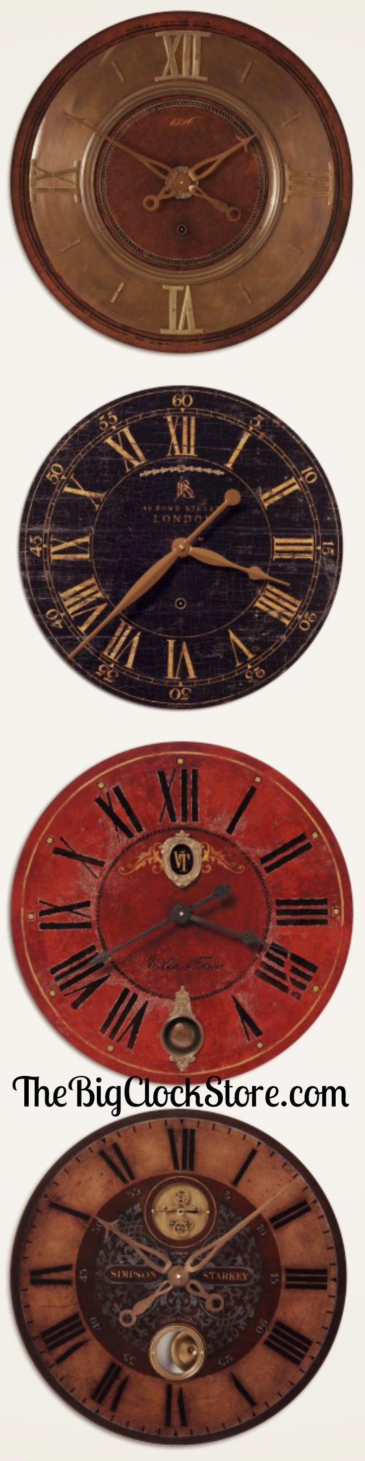 Am americana country wall clocks - We Have A Huge Selection Of Handmade One Of A Kind Uttermost Vintage Wall Clockslarge