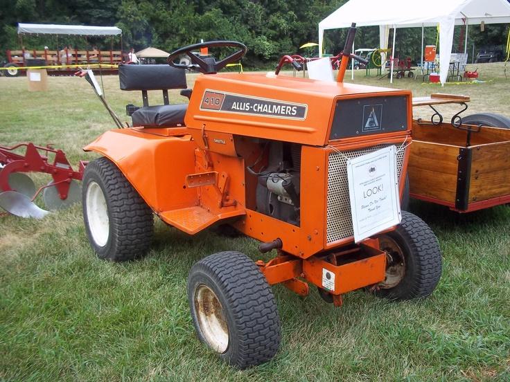 Allis Chalmers Garden Tractors : Ac b snow blower yesterday s tractors allis chalmers