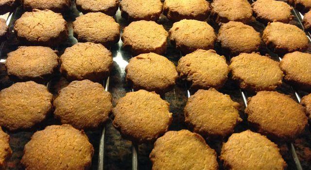 Suikervrije boekweit amandelmeel koekjes