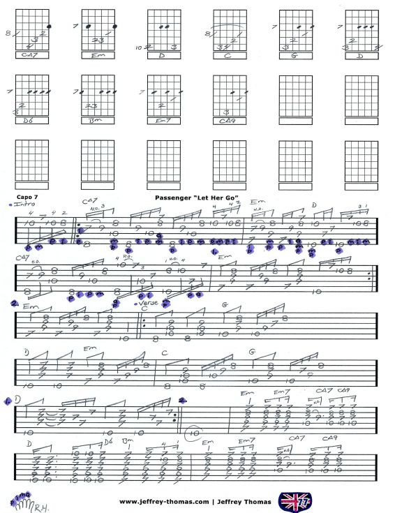 Guitar guitar chords of let her go : 1000+ images about Guitar on Pinterest