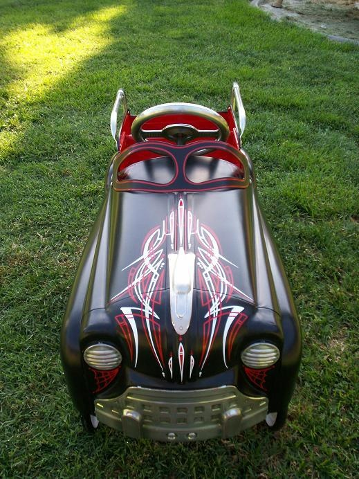 pedal powered pinstripes