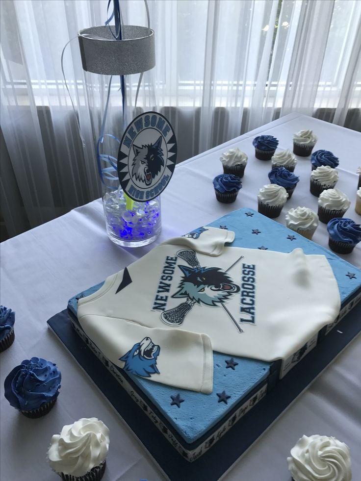 Lacrosse cake by Sweeties Delights