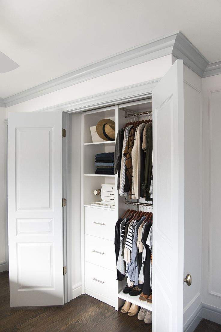 296 best bedroom closets images on pinterest organizing - Master bedroom closet ideas ...