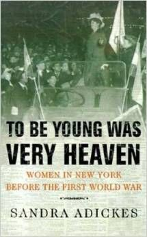 """March's book selection for #WomensHistoryMonth will be """"To Be Young Was Very Heaven"""" by Sandra Adickes! #LitAndALatte"""