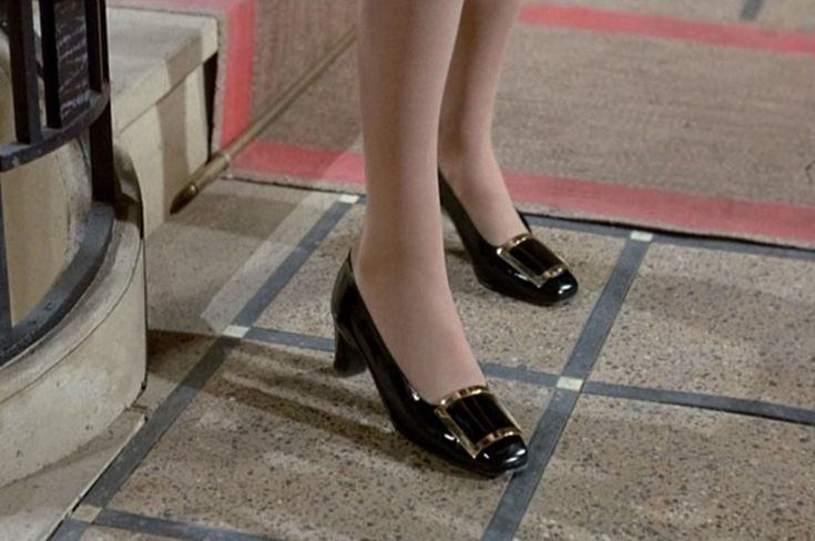 THE A TO Z OF SHOE SHOPPING - the shoes in the movie that started it all - worn by the elegant Catherine Deneuve in Belle de Jour from 1967 - utterly inspiring!
