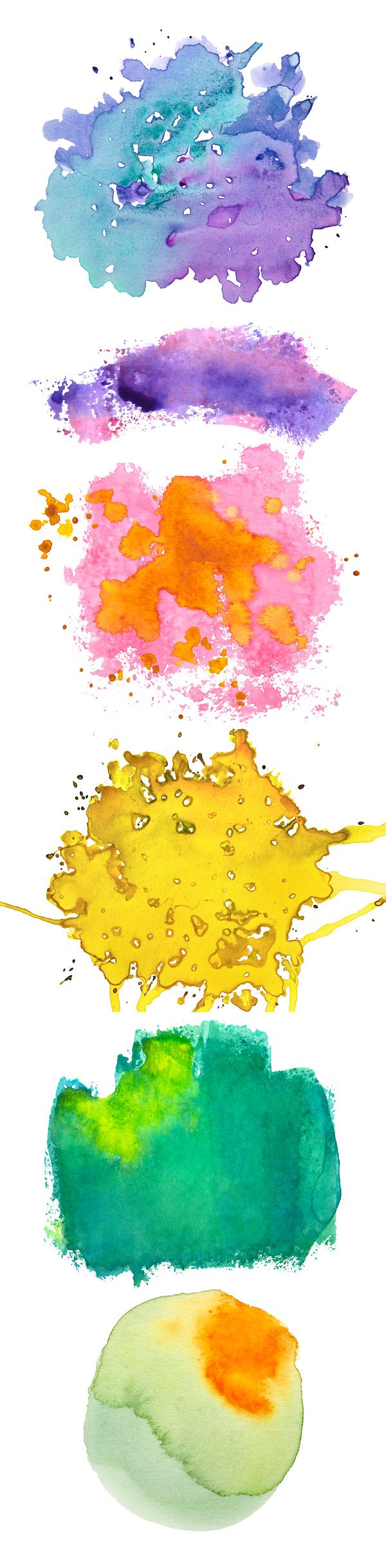 Free illustration watercolor pigment color free image - Let S Create Vibrant Designs With These Watercolor Free Textures This Is A Set Of 6