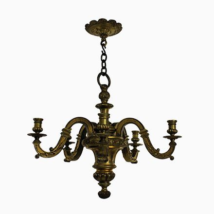 Antiker Kronleuchter Aus Vergoldeter Bronze Jetzt Bestellen Unter: ...