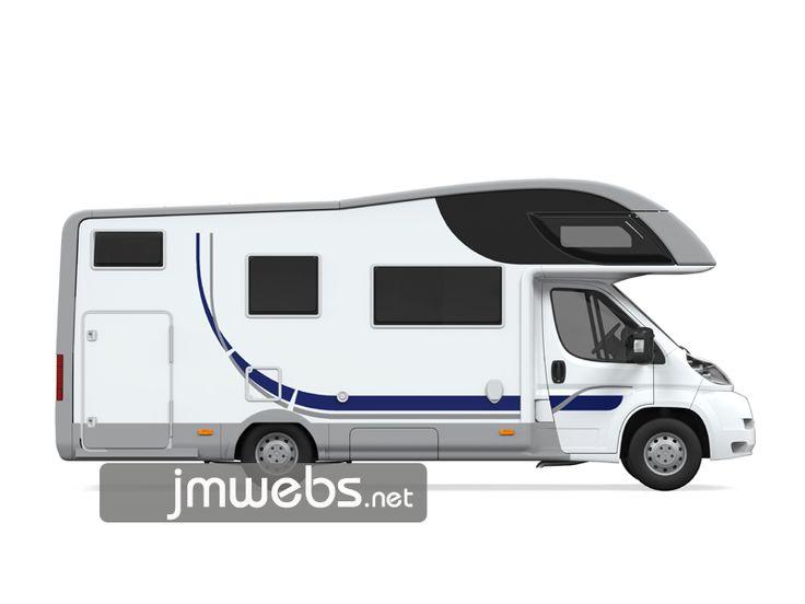 Rotulación de Caravanas, Caravaning con vinilo de corte y/o de impresión a todo color. Precios en www.jmwebs.net o Teléfono 935160047