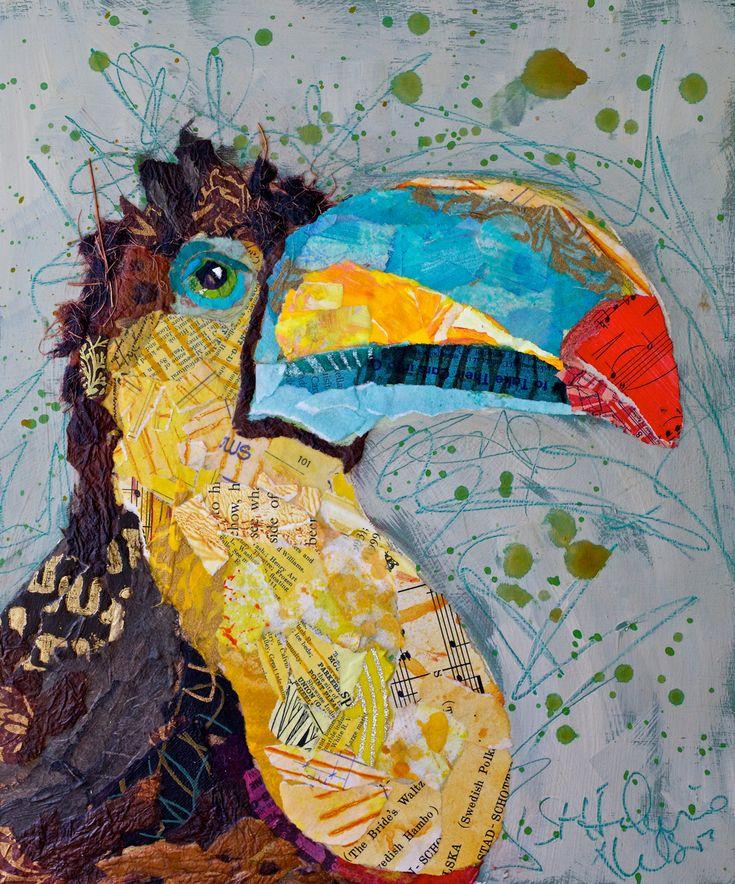 paper painting - Elizabeth St. Hilaire Nelson