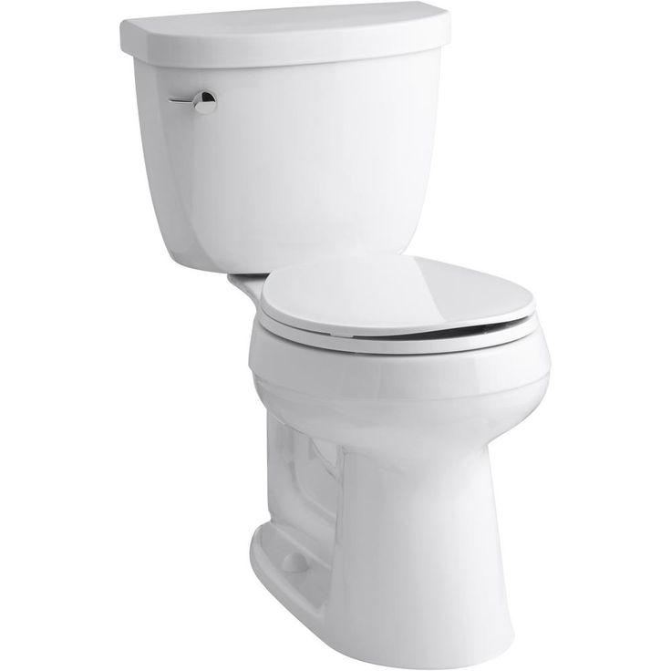 K 3887 Cimarron Comfort Height Round Front 1 28 Gpf Toilet Kohler Kohler Cimarron Kohler Water Sense