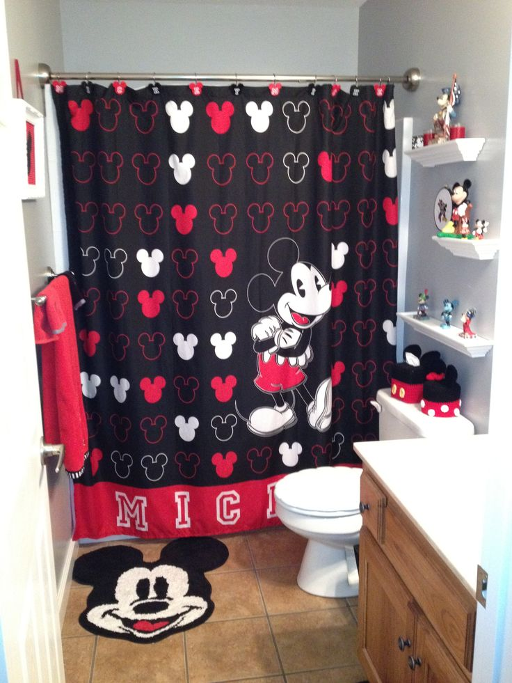 Great Mickey Mouse Bathroom This Is The Kids Bathroom Basically... When We Update  It
