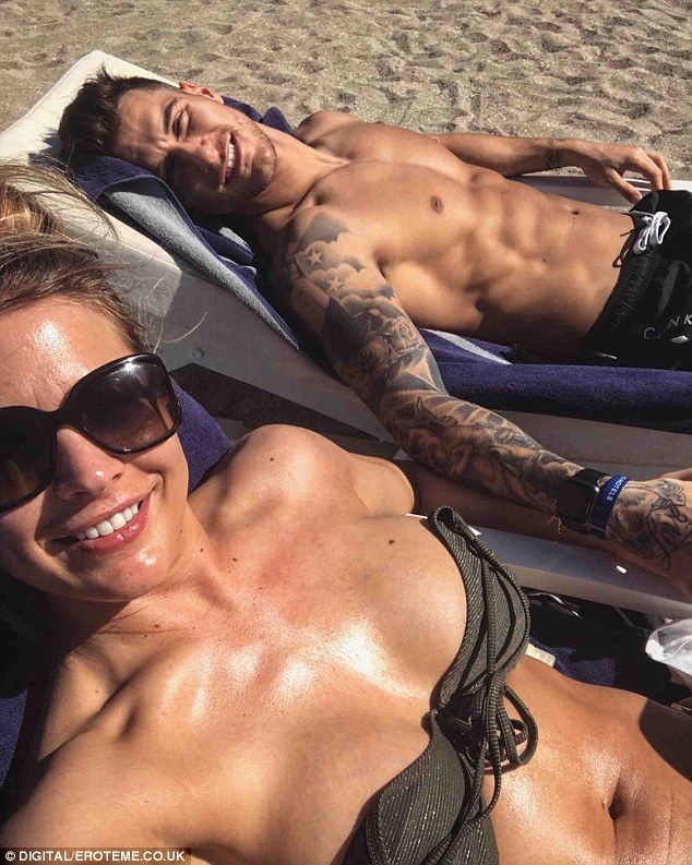 Gorka Márquez shares sunbathing snap with Gemma Atkinson  They put fans out of their misery on Valentines Day and admitted they were a couple.  And Gemma Atkinson and herStrictly Come Dancingdancer beau GorkaMárquez havent been shy about flaunting their newfound romance on Instagram as they enjoy a loved-up getaway together.  Gorka took to the photo-sharing site on Friday to post a snap of the pair enjoying a sunbathing session on the beach.  Fridays by the sea!: Hunky Gorka Márquez shared a…