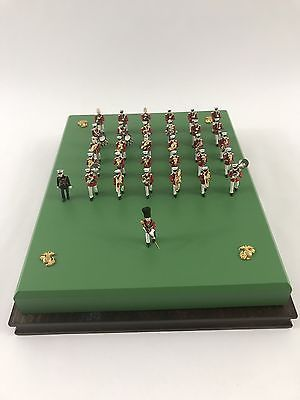 """The Presidents Own"" USMC Marines Marching Band Miniature Figurines  