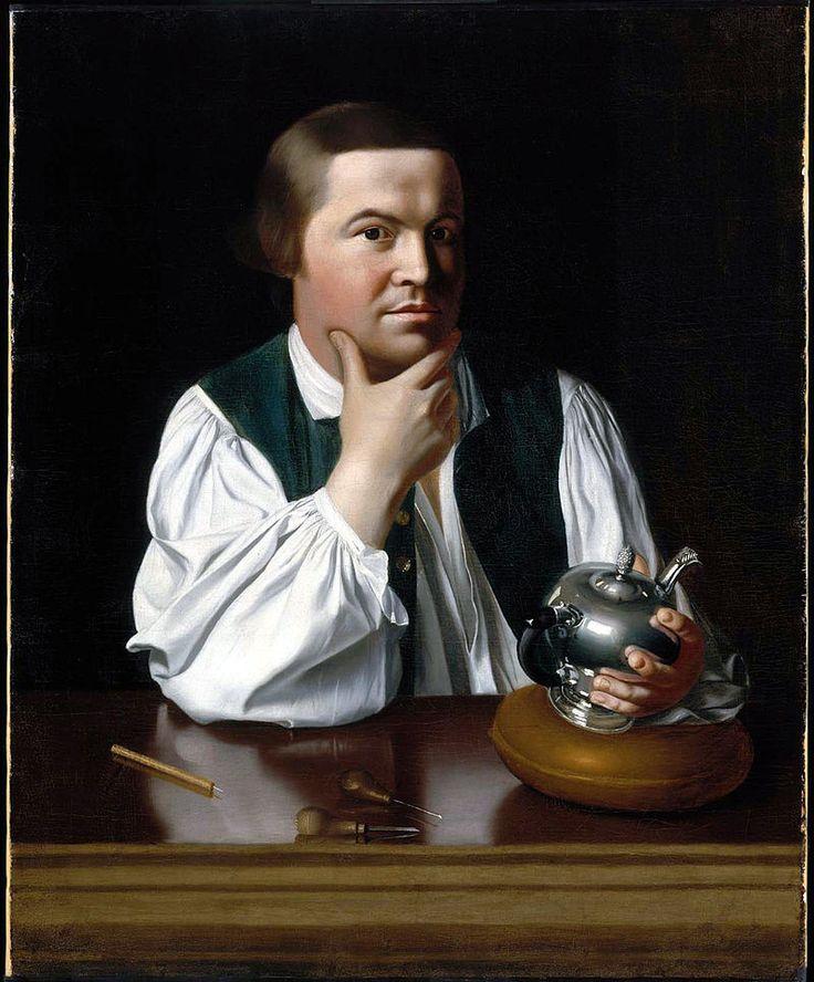 J S Copley - Paul Revere - Museum of Fine Arts, Boston