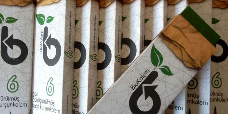 doğada izi bile kalmayan ham maddeler ile üretilen steppen biokalem 6'lı geri dönüştürülmüş kağıt kurşunkalem seti, bilinçli bir tüketici olduğunu bir kez daha gösterebilmen için bifincan'da.