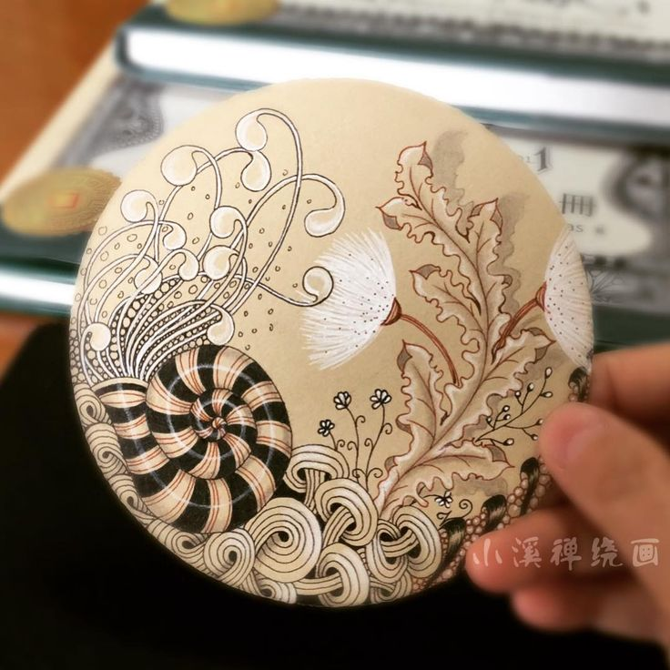"242 Likes, 4 Comments - 小溪(streamy) (@streamy6969) on Instagram: ""#zentangle"""