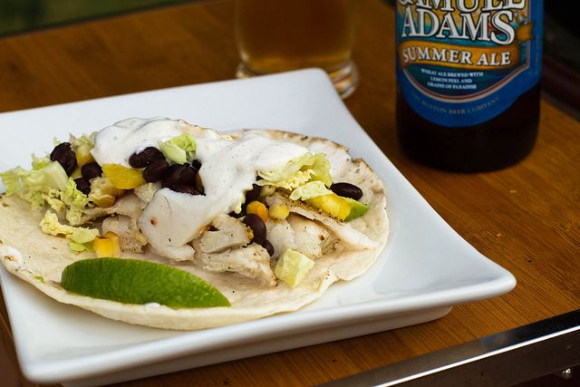 Grilled Haddock Tacos by Another Pint Please...