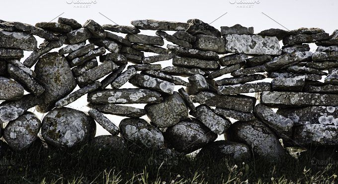 Stone wall by The Image Shop on @creativemarket
