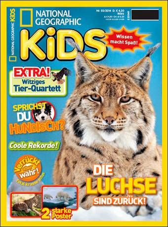NATIONAL GEOGRAPHIC KIDS Abo beim Leserservice