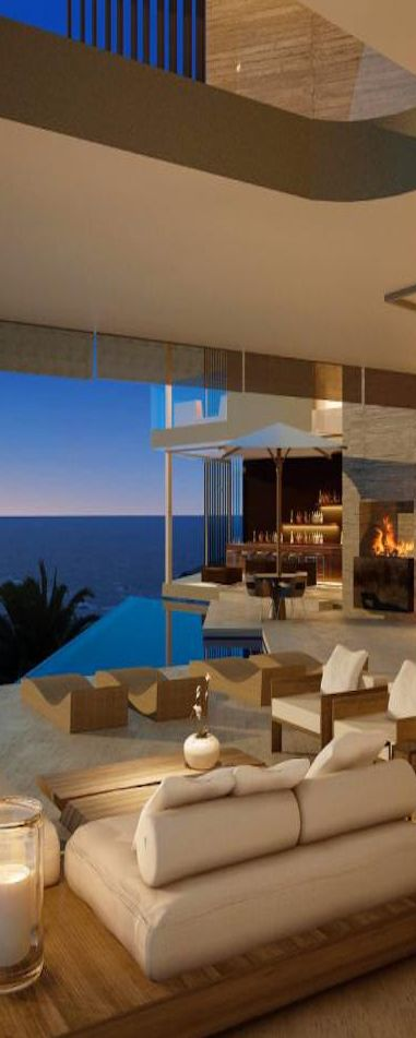SAOTA design beautiful beach house - I'm also in love with this neutral color palette!