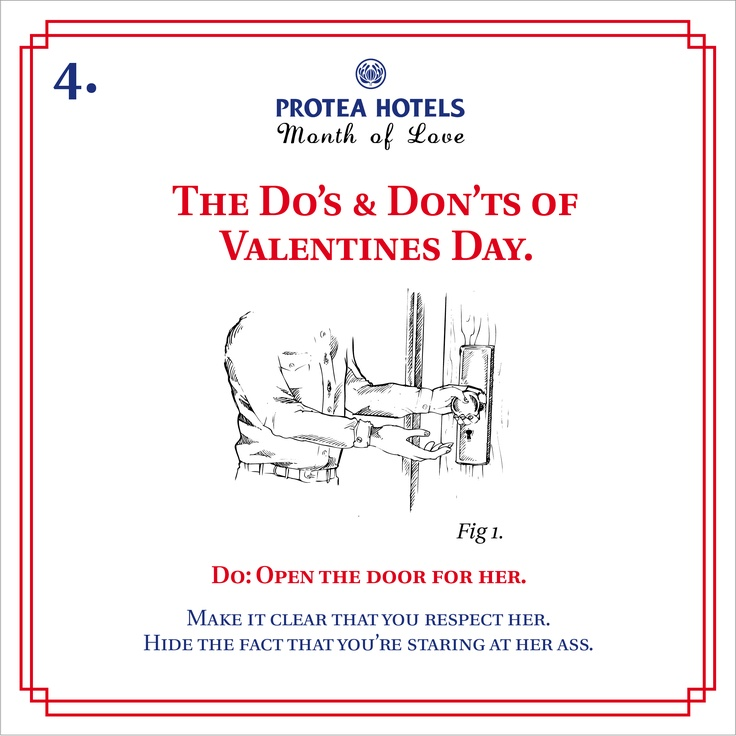 The Do's and Don'ts of Valentines Day