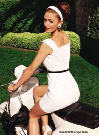 Scooter Girl Vespas 34