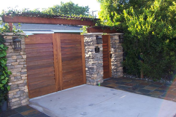 creative privacy fence ideas   Creative fences, gates and enclosures in San Diego – part 2