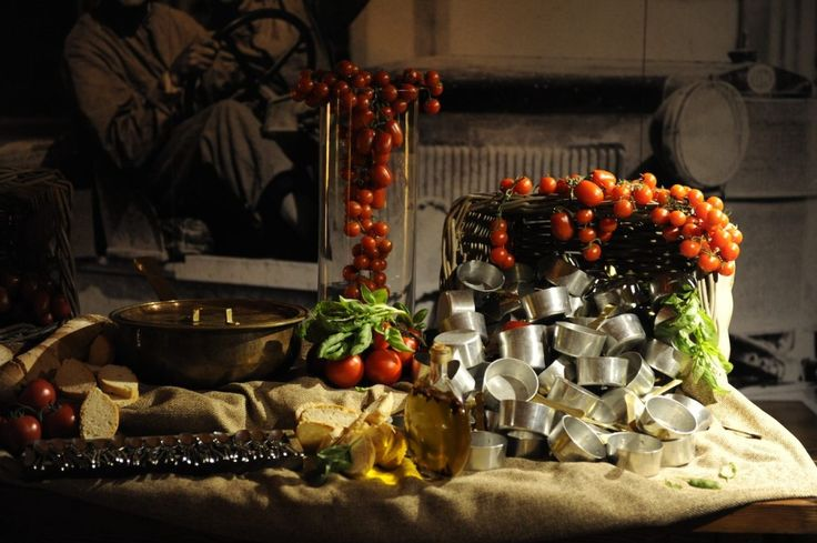 Country buffet for a perfect italian style wedding in Tuscany