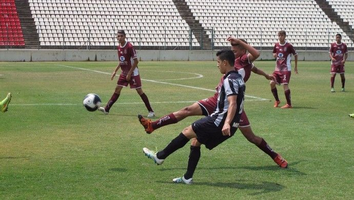 Lateral esquerda de RO, Hélio Junior faz história no Atlético-MG sub-17