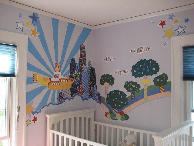 yellow submarine nursery | Flickr - Photo Sharing!