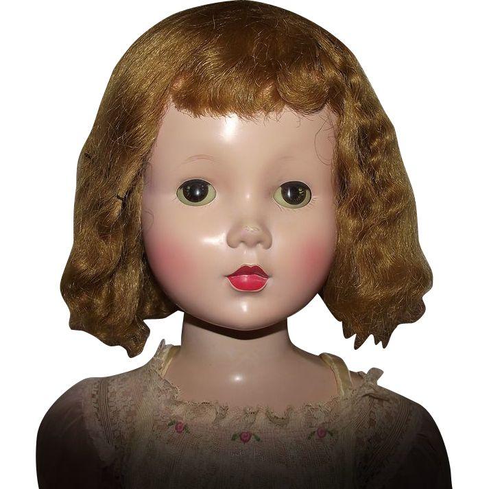 "Gorgeous Vintage Rare & HTF Madame Alexander ""Mary Ellen Walker Doll"" 31"" Tall Circa 1953"