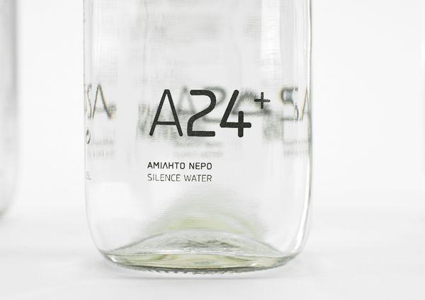 A24+ Silence Water by Chris Trivizas, via Behance