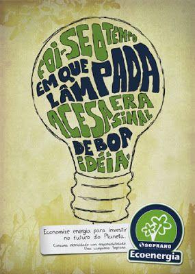 Vivendo em um ambiente de luz: Cartazes sobre Meio Ambiente