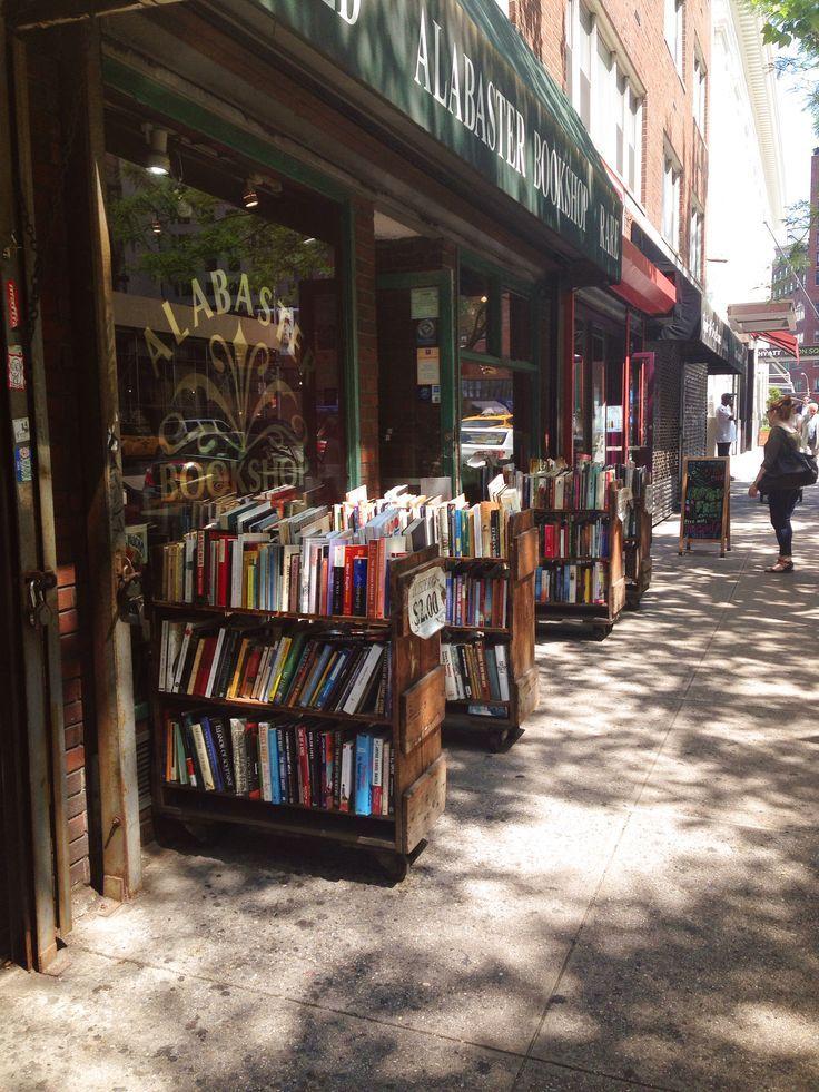 Alabaster Bookshop, New York City. Via @mezfazer (Instagram)